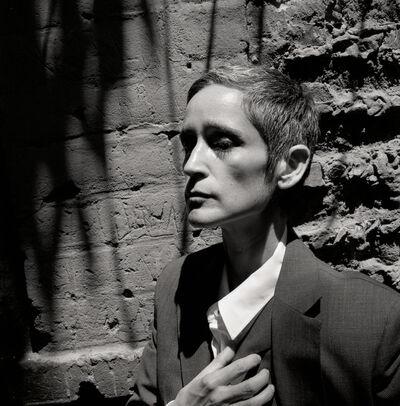 Yvonne Venegas, 'Self-Portrait in Juan Rulfo, (from the portrait by MA Bravo)', 2019