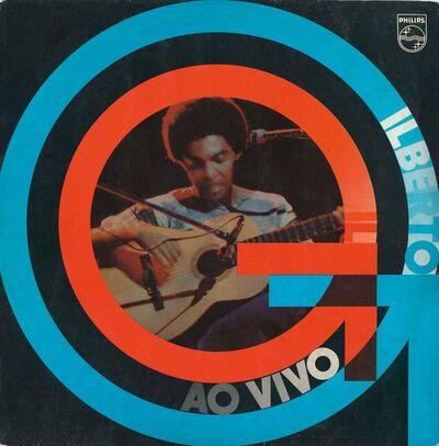 Rogério Duarte, 'Gilberto Gil - Ao Vivo', 1974