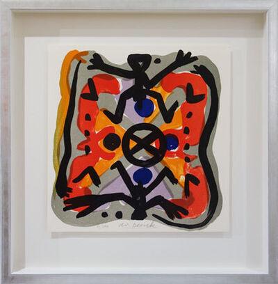 A.R. Penck, 'Oben wie unten', 1995