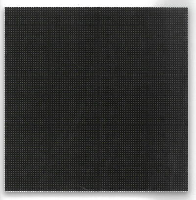 Matti Kujasalo, 'painting, white and yellow dots on black', 2006