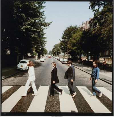 Iain Macmillan, 'Abbey Road (two photographs)', 1969