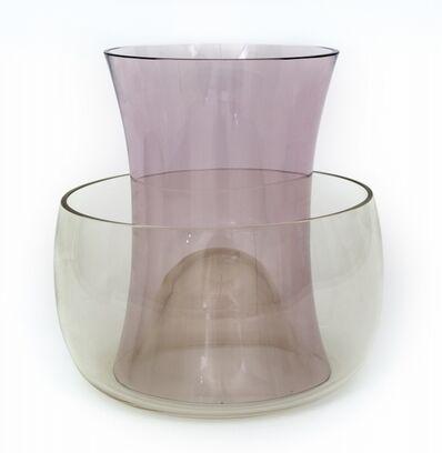 Enzo Mari, 'Vaso doppio' (double vase) for DANESE MILANO', 1991