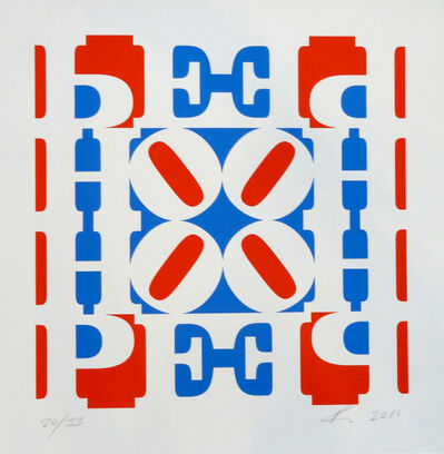 Robert Indiana, 'HOPE Wall (Red/White /Blue)', 2010