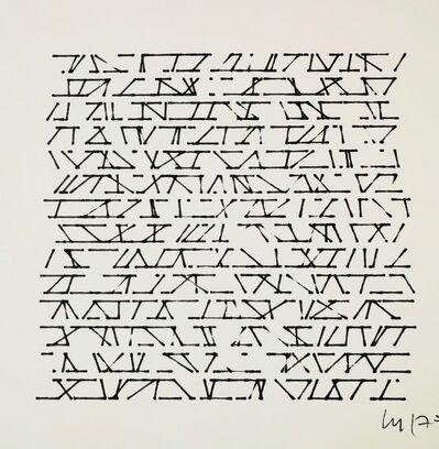 Vera Molnar, 'no title', 1975