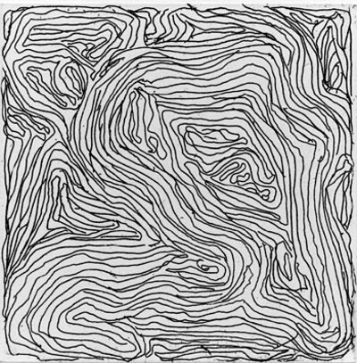 Sol LeWitt, 'Small Etching/Black & White No. 7', 1999