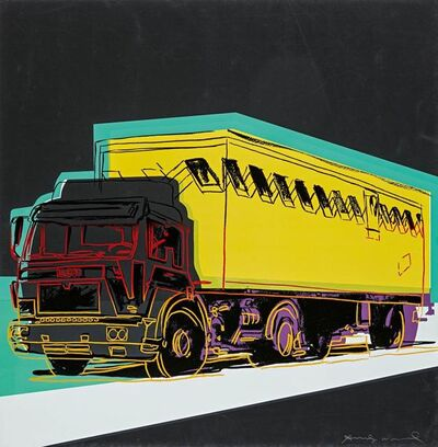 Andy Warhol, 'Truck', 1985