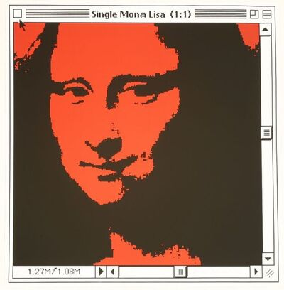 George Pusenkoff, 'SINGLE MONA LISA (1:1)', 1998