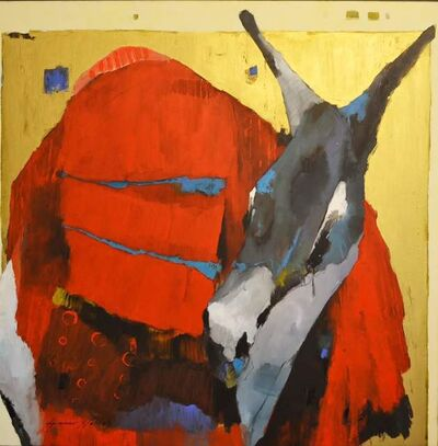 Ammar Alnahhas, 'Red Donkey', 2018