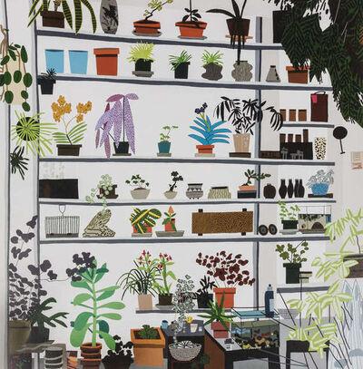 Jonas Wood, 'Large Shelf Still Life (Voorlinden Exhibition Posters)', 2017