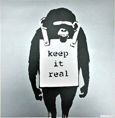 Banksy, 'Keep It Real', 2008