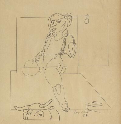Valerio Adami, 'Untilted', 1966
