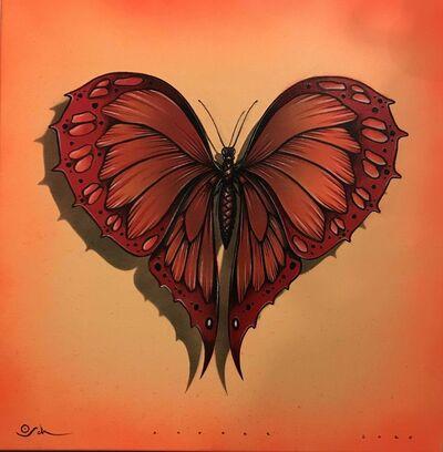 Otto Schade, 'Heart Butterfly', 2019