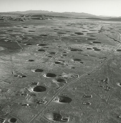 Emmet Gowin, 'Mercury Highway and the Center of Yucca Flat, Looking Southeast, Areas 7 and 9, Nevada Test Site', 1996