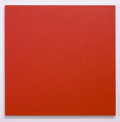 Marcia Hafif, 'Red Painting: Alizarin Crimson Light', 2000