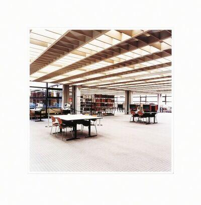 Candida Höfer, 'Universitätsbibliothek Hamburg B', 2001-2003