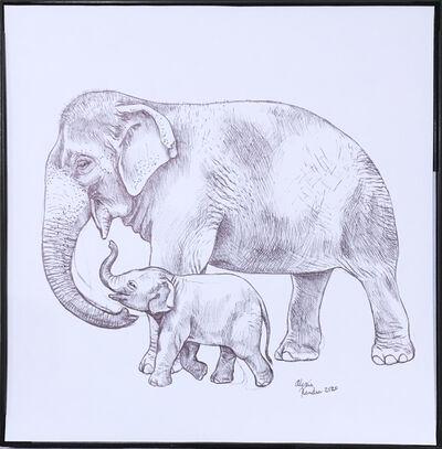 Alexis Kandra, 'Gentle Mother Sketch', 2019