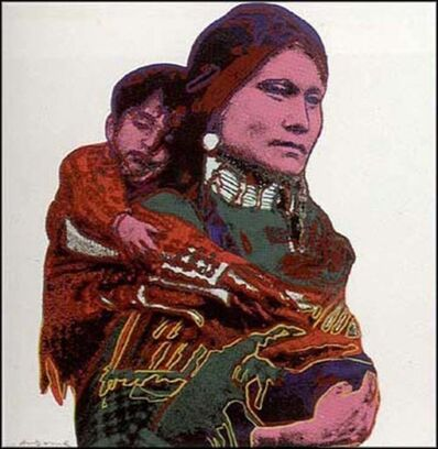 Andy Warhol, 'Mother and Child', 1986