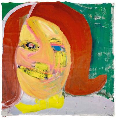 Martin Disler, 'Portrait', 1979