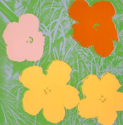 Andy Warhol, 'Flowers, from the Flowers portfolio', 1970