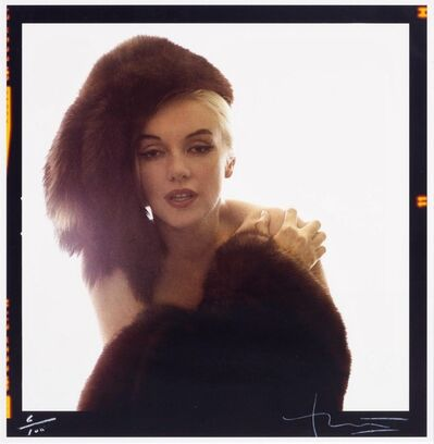 Bert Stern, 'Marilyn with Fur Hat', 1962/2001