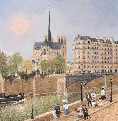 Fabienne Delacroix, '4 Saisons De Notre Dame le printemps', 2019