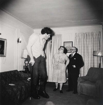 Diane Arbus, 'The Jewish Giant at Home', 1970