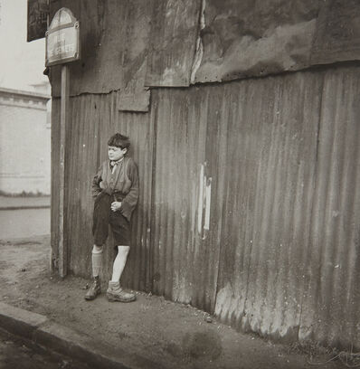 Dora Maar, 'Gamin aux Chaussures Dépareillés', 1933