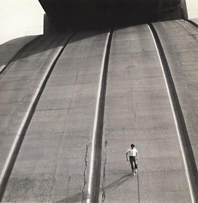 Arthur Tress, 'Boy Runs down Side of Support Arches of Bronx Whitestone Bridge, Bronx, NY', 1969/1969