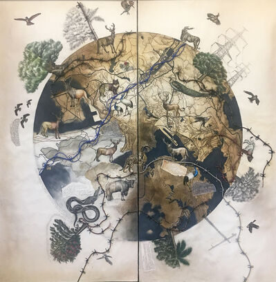 Reena Saini Kallat, 'Earth Families', 2019