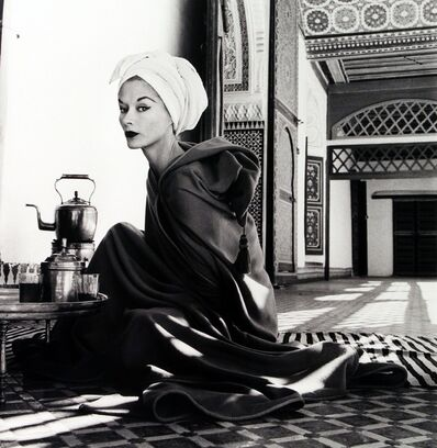 Irving Penn, 'Woman in a Palace (Lisa Fonssagrives-Penn), Marrakech, Morocco', 1951