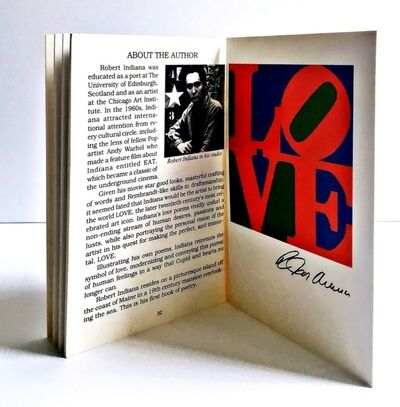 Robert Indiana, 'The Book of Love Art & Poetry', 1996