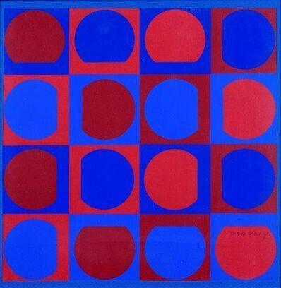 Victor Vasarely, 'Eridan rouge'
