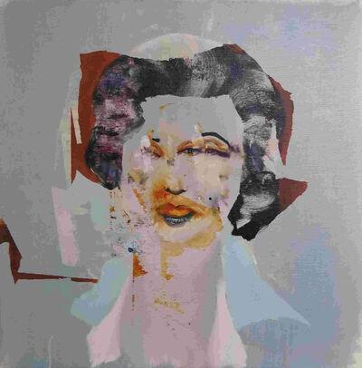 Florian Eymann, 'Marilyn Aubergine', 2019