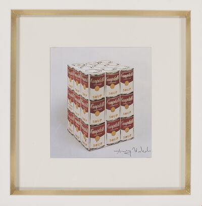 Andy Warhol, 'Unique Campbell's Soup Box', 1986