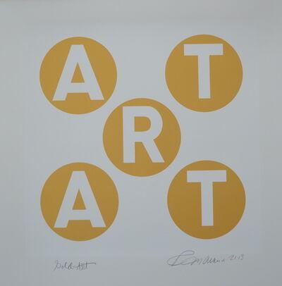 Robert Indiana, 'ART', 2013