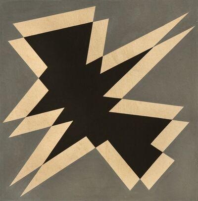 José Pedro Costigliolo, 'Forma negra en fondo gris', ca. 1955