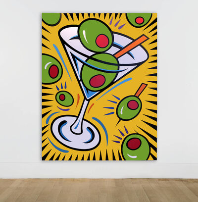 Burton Morris, 'Friends - Shakin' Not Stirred', 2019