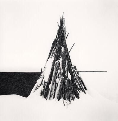 Michael Kenna, 'Fuyugakoi in Snow, Hokkaido, Japan', 2008