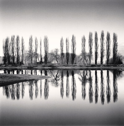 Michael Kenna, 'Ortucchio Lake Reflection, Fucino, Abruzzo, Italy', 2016