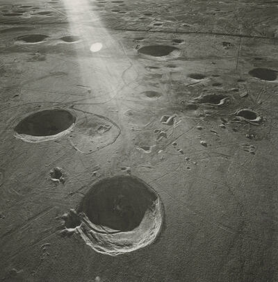 Emmet Gowin, 'Yucca Flat, Looking West Toward the Yucca Fault, Area 10, Nevada Test Site', 1996