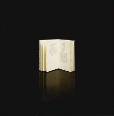 Taryn Simon, 'Black Square X, The Book of Record of the Time Capsule of Cupaloy; To the People of That Future, A Key to the English Language', 2011