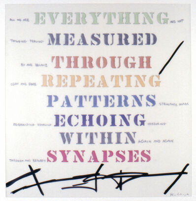 Edwin Schlossberg, 'Everything Measured', 2002