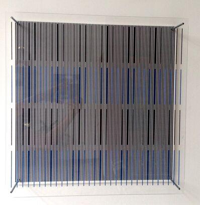 Jesús Rafael Soto, 'Tres Azules y Negras', 1979