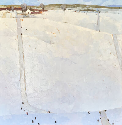 Dinah Worman, 'Snowy Day with Cows', 2019