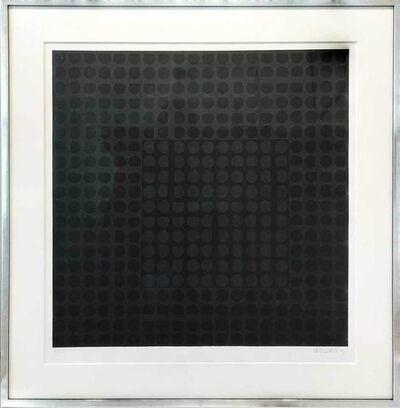 Victor Vasarely, 'Carmi Noir', 1966