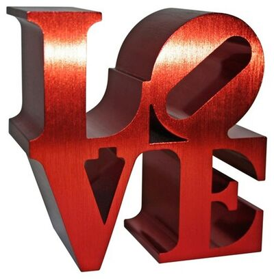 Robert Indiana, 'LOVE (Limited Edition Artist Authorized, with Incised Indianapolis Museum of Art & Morgan Foundation Stamp and Artist Copyright)', 2011