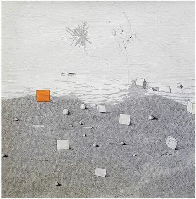 Jacob El Hanani, 'Untitled - abstract minimalist painting', 1972