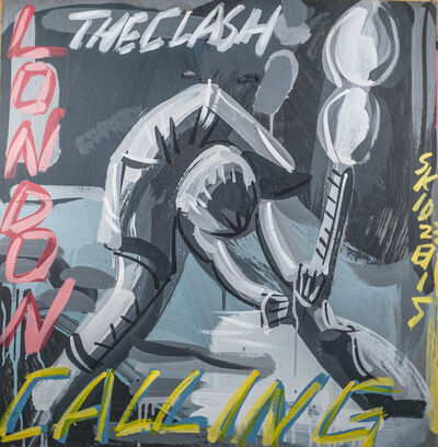 Steve Keene, 'The Clash - London Calling', 2015