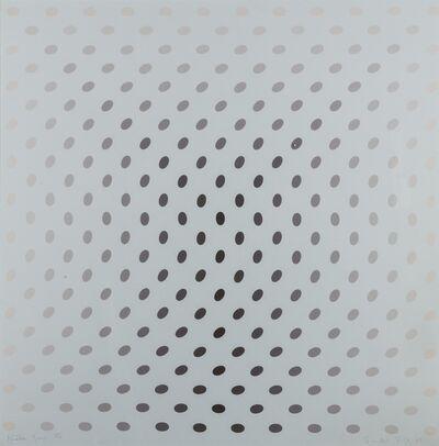 Bridget Riley, 'Untitled from Nineteen Greys (Schubert 8)', 1968