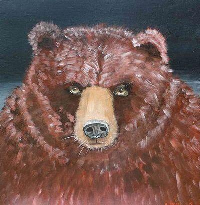 Anne Siems, 'Bear face', 2019